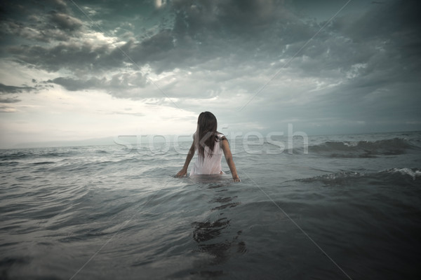 Stock photo: Creature in the sea