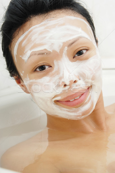 Beauty mask Stock photo © Novic