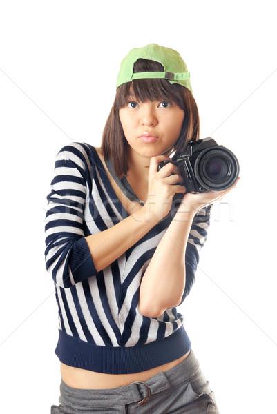 Me and my camera Stock photo © Novic