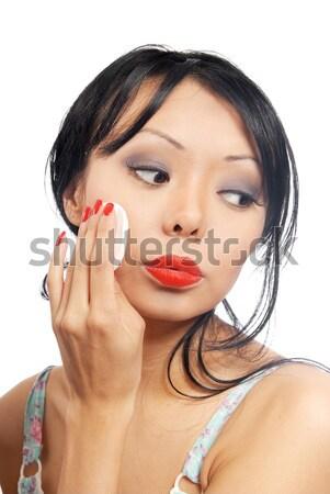 ネクタイ 手 美 モデル スタイリッシュ ストックフォト © Novic
