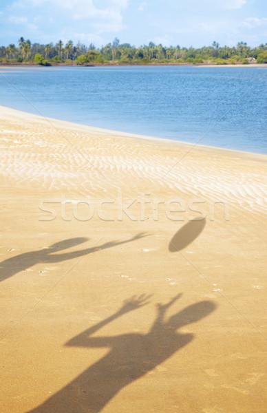 Play at the beach Stock photo © Novic
