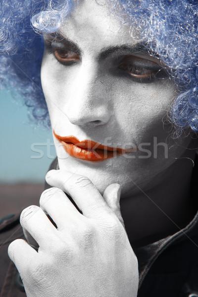 Pensive clown Stock photo © Novic