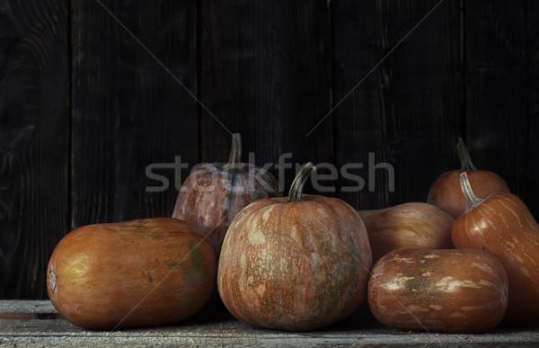 Pompoenen oogst landelijk plaats voedsel Stockfoto © Novic