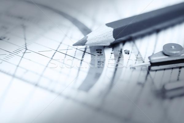 エンジニアリング 鉛筆 モノクロ 写真 ビジネス ストックフォト © Novic