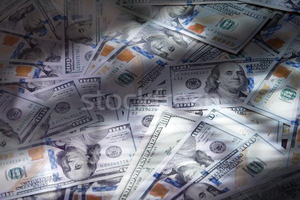 Tekstury jeden sto dolarów tle Zdjęcia stock © Novic