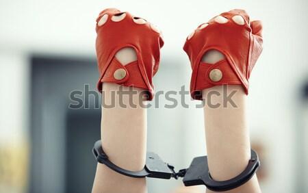 Ręce dwa ludzi pionowy Fotografia strony Zdjęcia stock © Novic