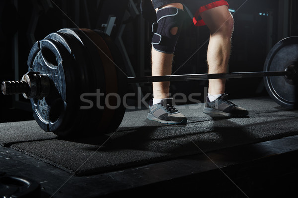 Weightlifting Stock photo © Novic