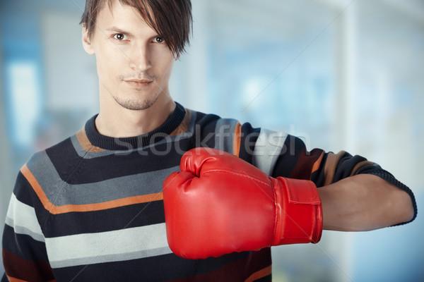 Boxing Stock photo © Novic