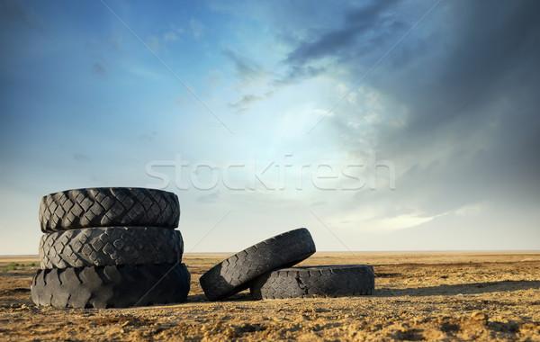 Obsolete tires Stock photo © Novic