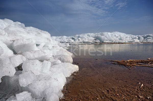 Ice hummock in Arctic Stock photo © Novic