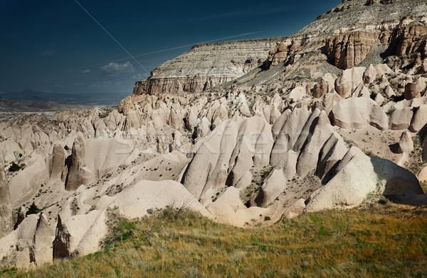 Rock Turcja poziomy Fotografia krajobraz piękna Zdjęcia stock © Novic