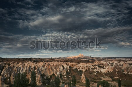 Rock formations of Cappadocia Stock photo © Novic