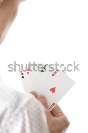 Four of Aces Stock photo © Novic