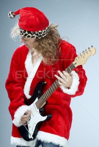 Christmas rock-n-roll Stock photo © Novic