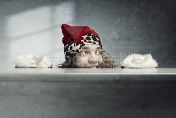 Crazy Santa Claus Stock photo © Novic