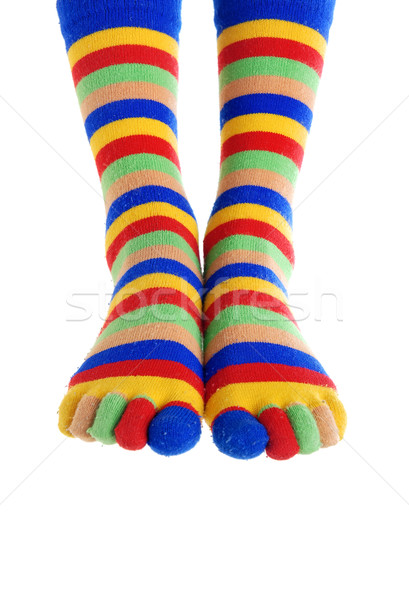Foots of the clown Stock photo © Novic