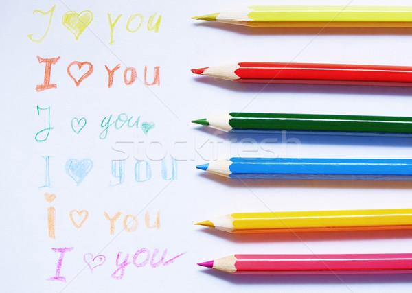 Love you Stock photo © Novic