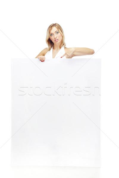 Blank sign Stock photo © Novic
