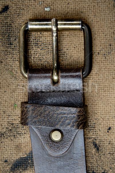 Belt details Stock photo © Novic