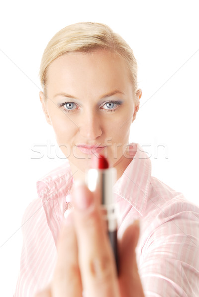 I give you my lipstick Stock photo © Novic