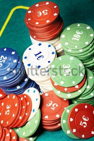 Poker chips Stock photo © Novic