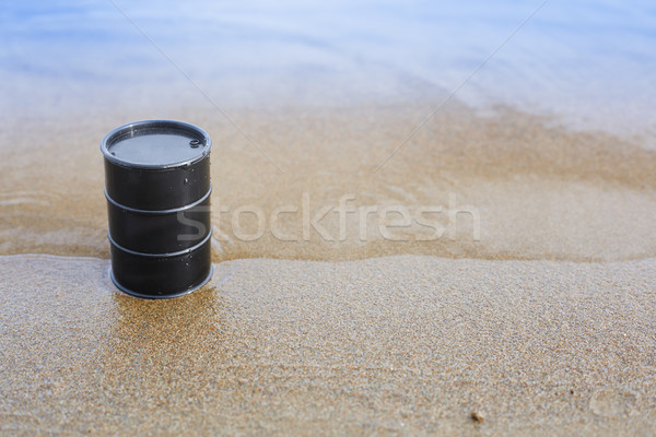 Oil barrel Stock photo © Novic