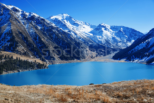 Moraine lac Canada parc eau paysage Photo stock © Novic