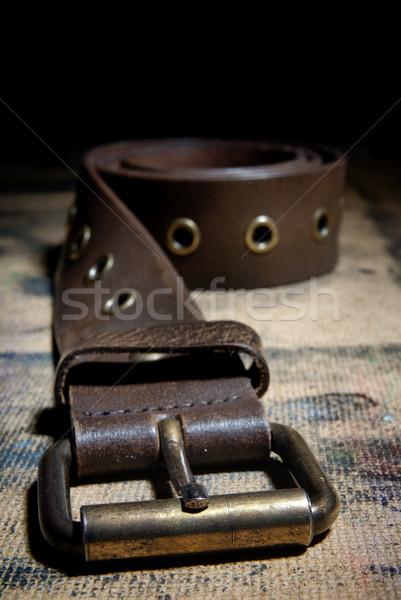 Hardness of the belt Stock photo © Novic
