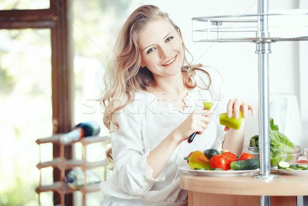 Healthy food Stock photo © Novic
