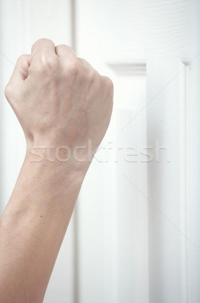 Knocking at the door Stock photo © Novic