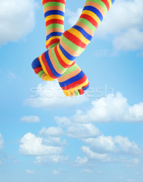 Stock photo: Vacation in the sky