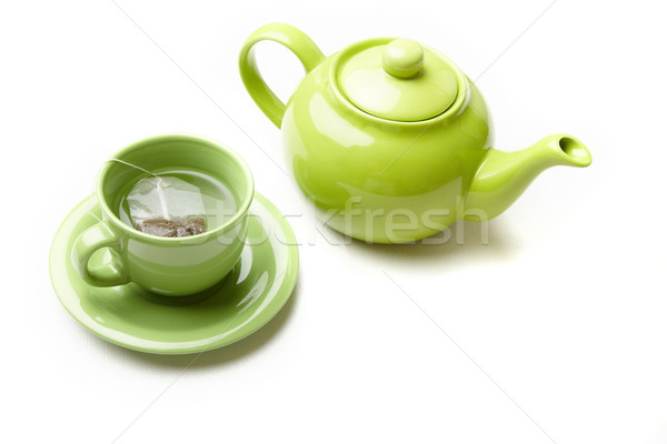Tea service Stock photo © Novic