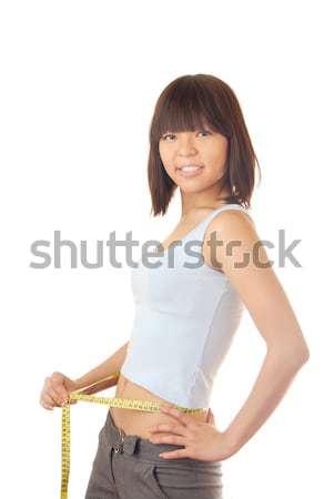 Slim model Stock photo © Novic