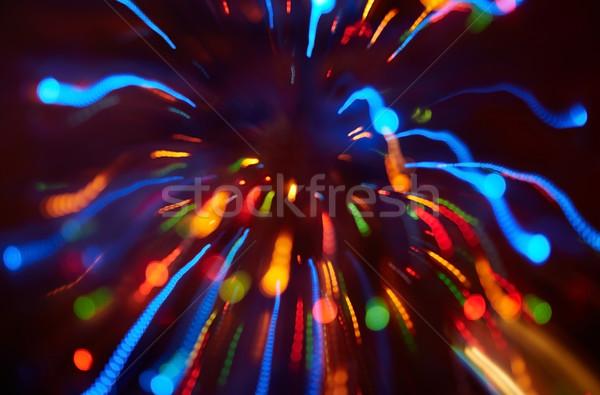 Uroczystości zamazany strony świetle urodziny tle Zdjęcia stock © Novic