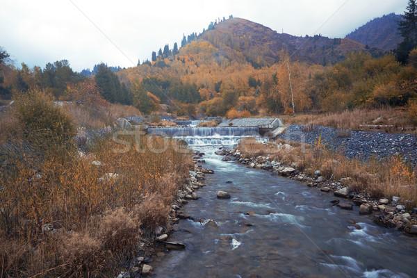 Stock photo: Autumn river