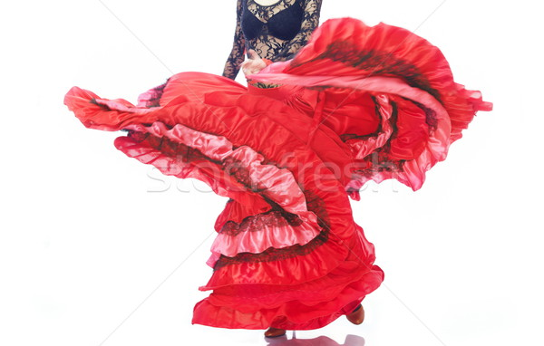 Gypsy petticoat Stock photo © Novic