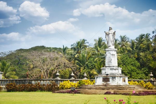 Religious Monument in Goa Stock photo © Novic