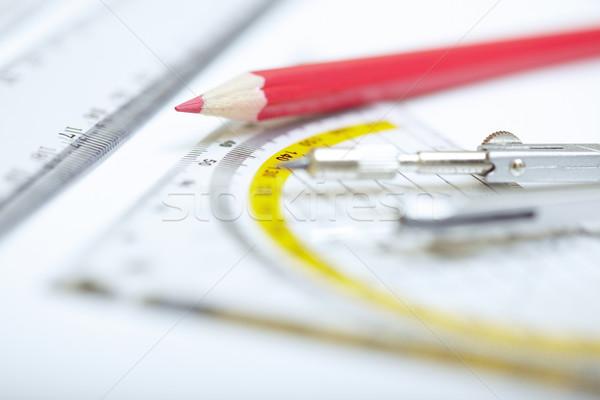 Drawing tools Stock photo © Novic