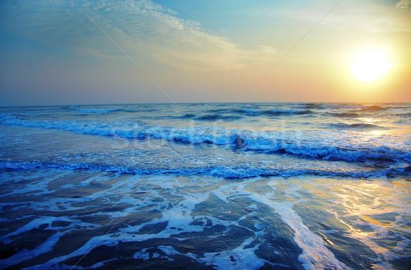 Vivid sunset Stock photo © Novic