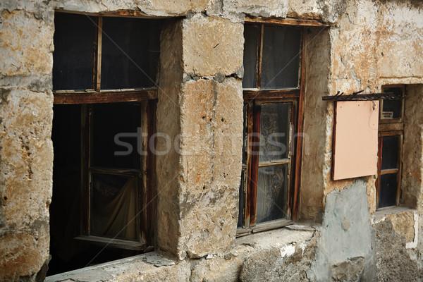 Stock photo: Old abandoned house