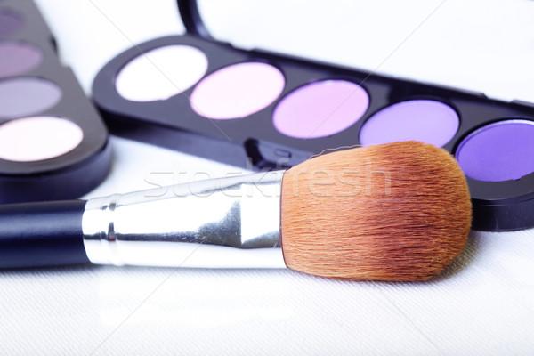 化粧 セット クローズアップ 写真 白 ストックフォト © Novic
