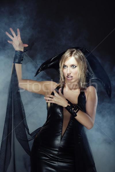 Halloween witch Stock photo © Novic