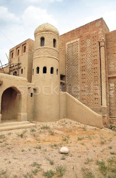 Stock photo: Ancient nomadic city