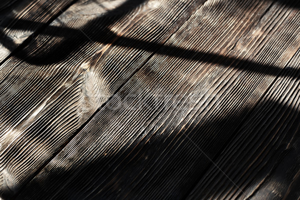 Schaduwen textuur hout abstract meubels Stockfoto © Novic