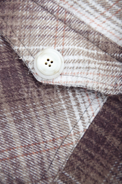 Pocket with button Stock photo © Novic