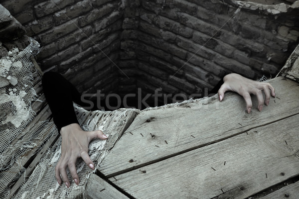 мне рук человек из старые Сток-фото © Novic