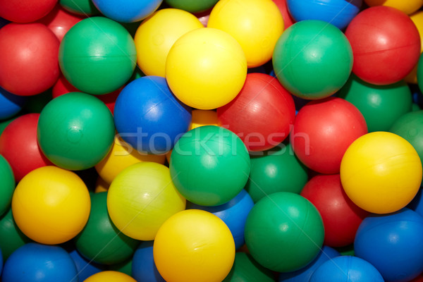Multicolored plastic balls Stock photo © Novic