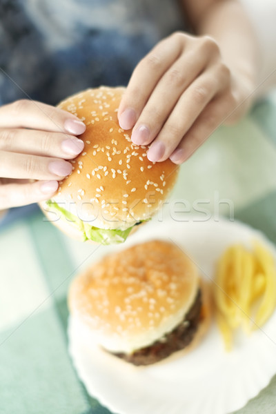 Hamburgers Stock photo © Novic
