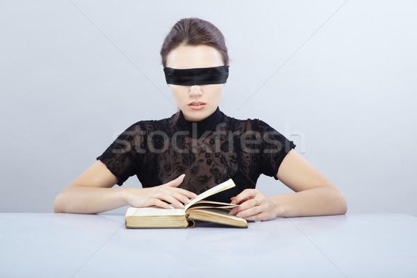 Blind reader Stock photo © Novic