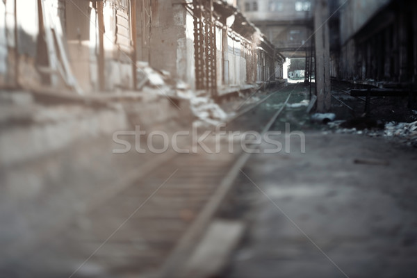 Abandoned railway Stock photo © Novic
